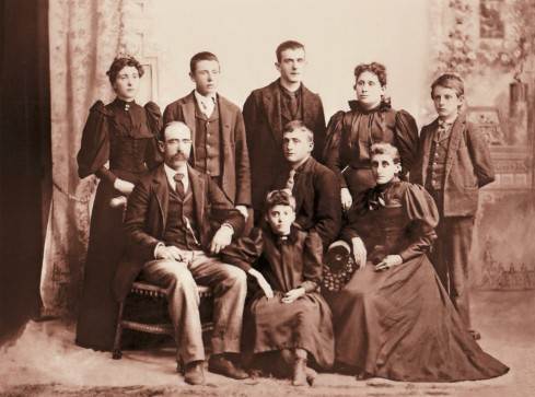 Albert & Lavina (Bursley) Stanwood and family