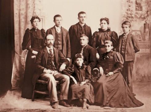 Albert & Lavina (Bursley) Stanwood and family