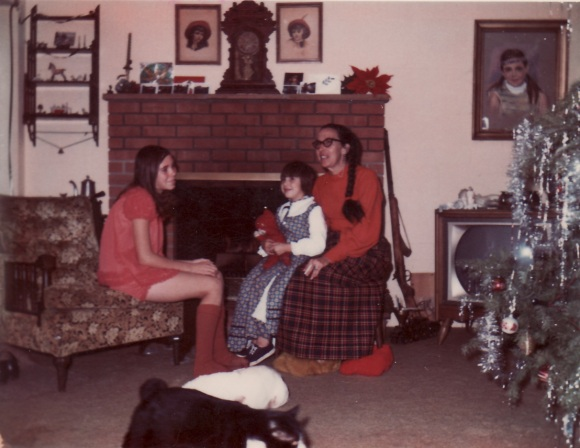 Christmas at my grandparents about 1969