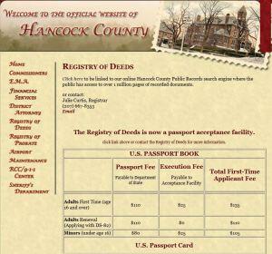 Hancock County Maine Registry of Deeds