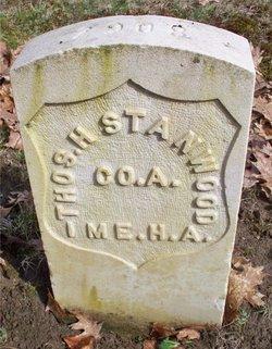 Headstone of Thomas H. Stanwood