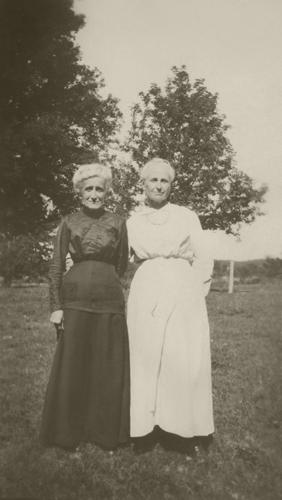 Restored photo of Grandma Lavina