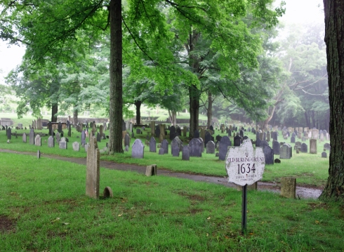 Old Burying Ground where Aaron Day and his wife Sarah (Goodhue) Day are buried