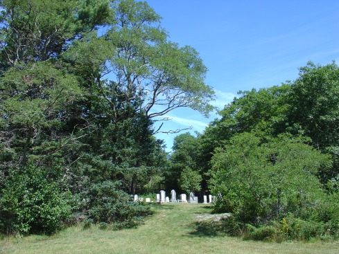 Salisbury Cove Cemetery in Bar Harbor, Maine