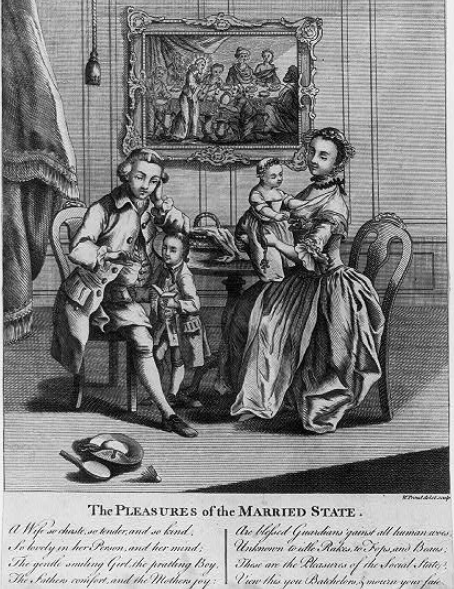 Dating in the 1700s