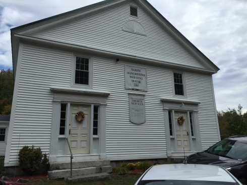 North Manchester Church where John Day and family worshipped.