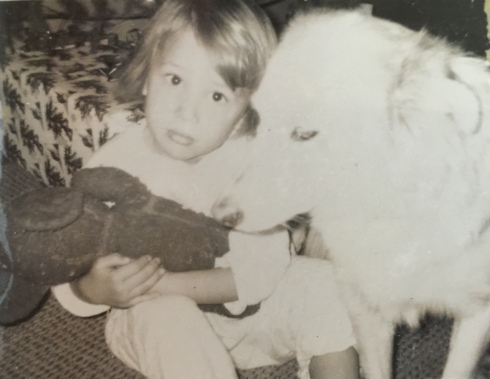 Me in 1967 with my first dog, Taffy, a faithful Border Collie who was my shadow.